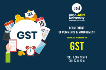 Seminar On GST