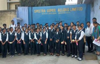 SPECTRA SUPER ALLOYS LTD INDUSTRIAL VISIT main