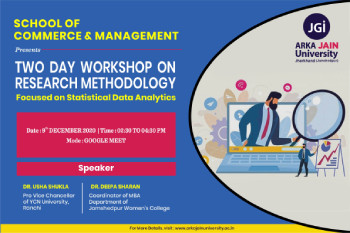 Two Day 'Workshop on Research Methodology
