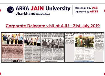 Corporate Delegat visit at AJU_350x255