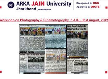 Workshop on Photography & Cinematography350x255