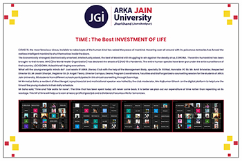 Time the best management of life write up (1)