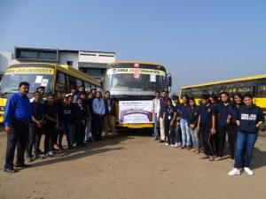 Dalma Wildlife sanctuary visit-Arka Jain University-Journalism & Mass Communication Department-Pic 3