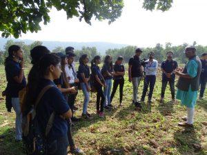 Dalma Wildlife sanctuary visit-Arka Jain University-Journalism & Mass Communication Department-Pic 4