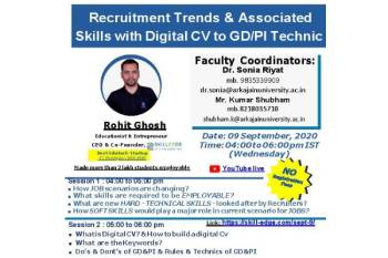 Session on Recruitment 350x233