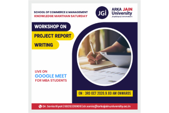 Workshop on Project Report Writing-350x233
