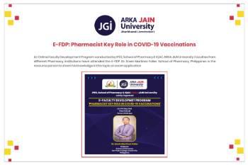 E- FDP Pharmacist Key Role in COVID -19 Vaccinations350x233