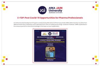 E- FDP Post Covid-19 Opportunities for Pharma Professionals350x233