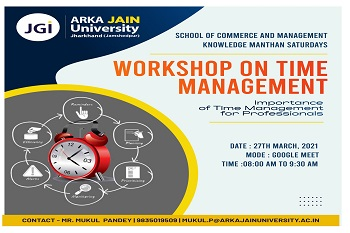 workshop on time mgmt