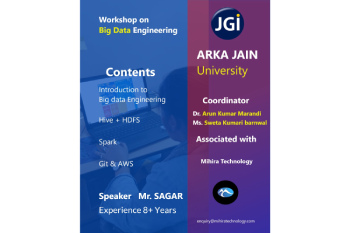 Workshop On Big Data Engineering 350x233