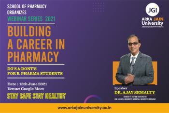Webinar On Building A Career In Pharmacy 350x233