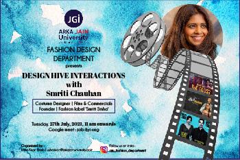 Costume Designer - Smriti Chauhan- 350 233-01