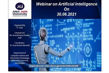 Detailed Report on Webinar on AI - 30.06.2021 350x233