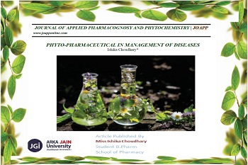 Journal Of Applied Pharmacognosy And Phytochemistry