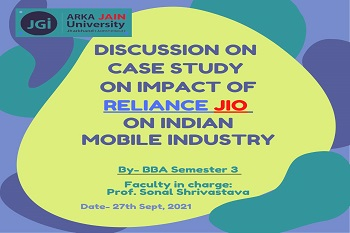 Case Study on Impact of Reliance Jio on Indian Mobile Industry - Discussion - 350x233